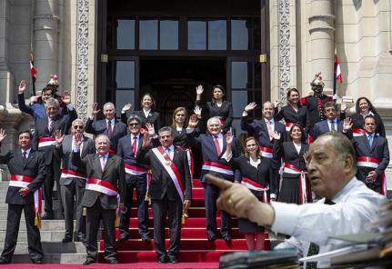 Ántero Flores Aráoz: «El gobierno es transitorio y temporal»