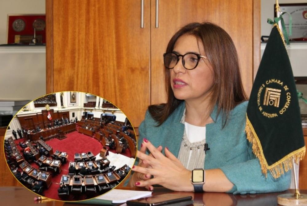 Cámara de Comercio de Arequipa rechaza vacancia.