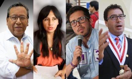 Elecciones 2021: Estos son los primeros candidatos oficiales al Congreso por Arequipa