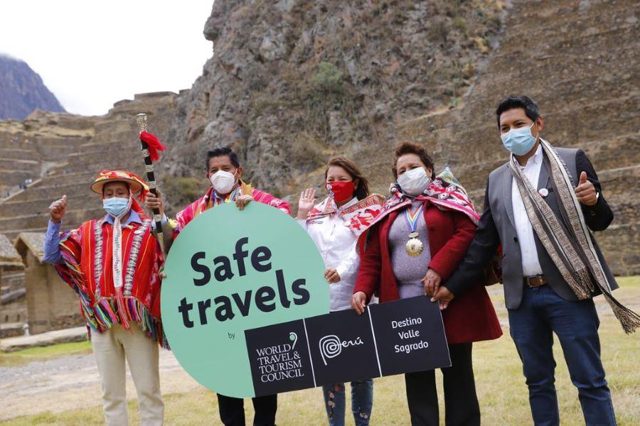 Cusco Valle Sagrado es el segundo destino del país en recibir el sello Safe Travels