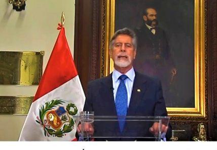 Francisco Sagasti: no habrá marcha atrás en cambios en la Policía Nacional