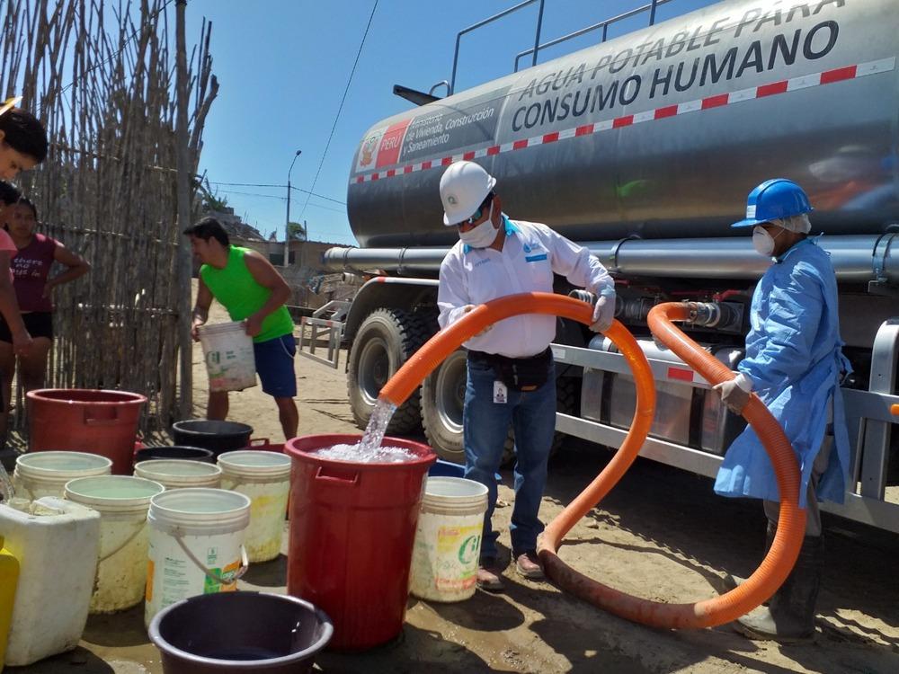 Agua en Arequipa.