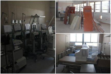 Hospital covid deja sin atención a cientos de pacientes por obras inconclusas