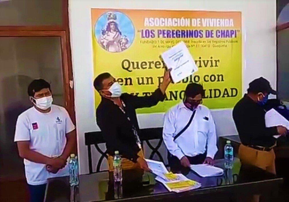 invasiones en Quequeña