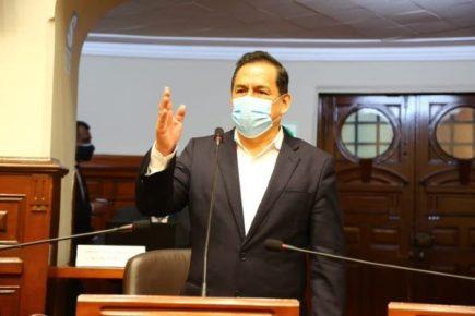 """José Vega: """"Nosotros no toleramos la corrupción venga de donde venga"""""""