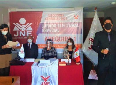 Instalan Jurado Electoral Especial, que recibirá candidaturas y tachas