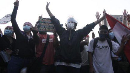Más de 100 heridos y de 40 desaparecidos tras la marcha nacional