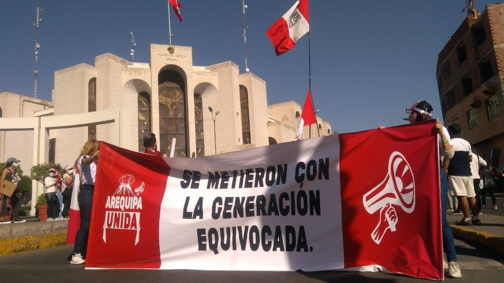 marchas Arequipa