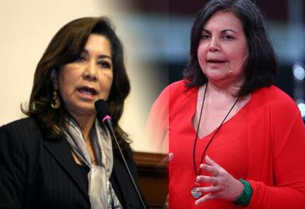 Martha Chávez fue silenciada por Rocío Silva Santisteban