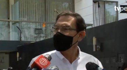 """Martín Vizcarra sobre renuncia de Merino: """"Ha salido un dictadorzuelo de Palacio"""""""