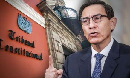 TC deja a voto demanda competencial sobre pedido de vacancia contra Martín Vizcarra