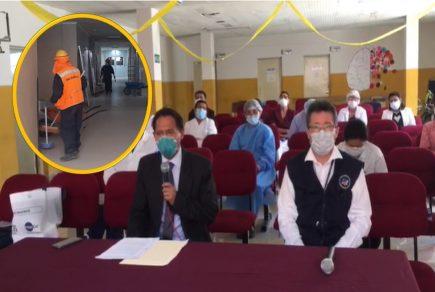Crisis total en hospital covid Arequipa: obras pararon hace una semana