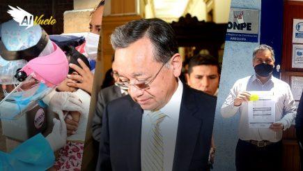 Edgar Alarcón: Denuncias en su contra se evaluarán este viernes | Al Vuelo noticias