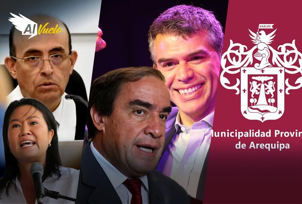 noticias arequipa fuerza popular jode domigno perez elecciones 2021 peru