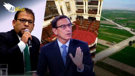 Vacancia presidencial: Congreso negó pedido de Vizcarra | Al Vuelo noticias