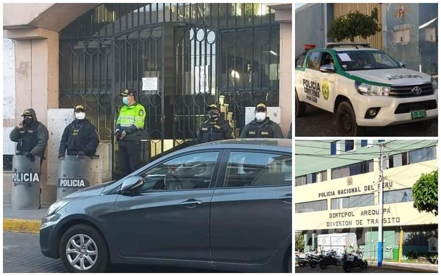 Intervienen Municipalidad de Arequipa y detienen a más de 20 por mafia de  papeletas