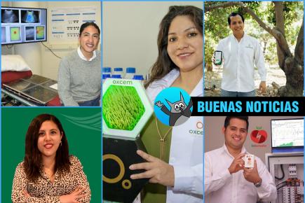 Cinco jóvenes peruanos reconocidos entre los grandes innovadores de Latinoamérica