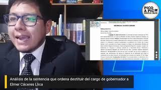 #PicoAPico ¿Qué implica la disposición judicial de destituir al gobernador?