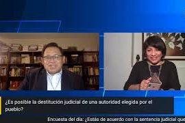 Pico a Pico: ¿Es posible destituir autoridades por mandato judicial?