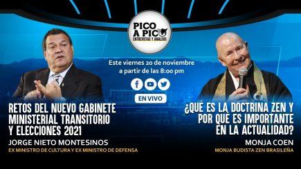 Pico a Pico: gabinete ministerial de transición y la vida postpandemia