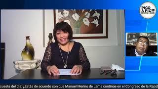 Pico a pico:  Gobierno Regional y precandidatura congresal