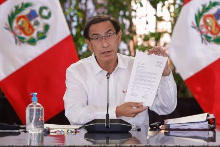 Vizcarra pide al Congreso adelantar el debate por la vacancia al viernes 6, pero lo rechazan