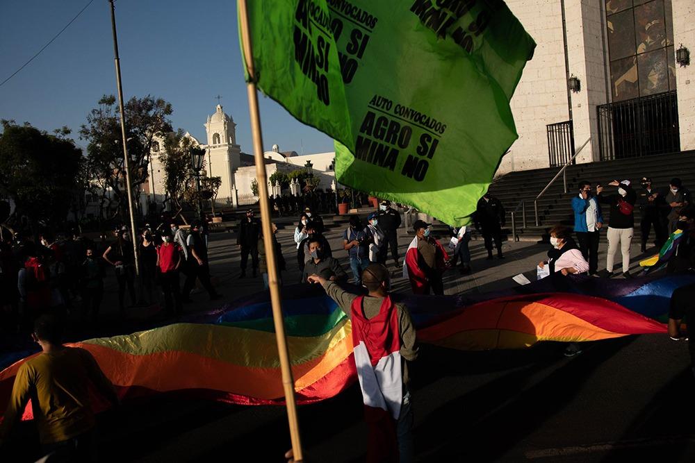 marcha contra la política