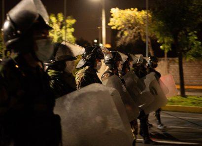 Instantáneas de la protesta en Arequipa