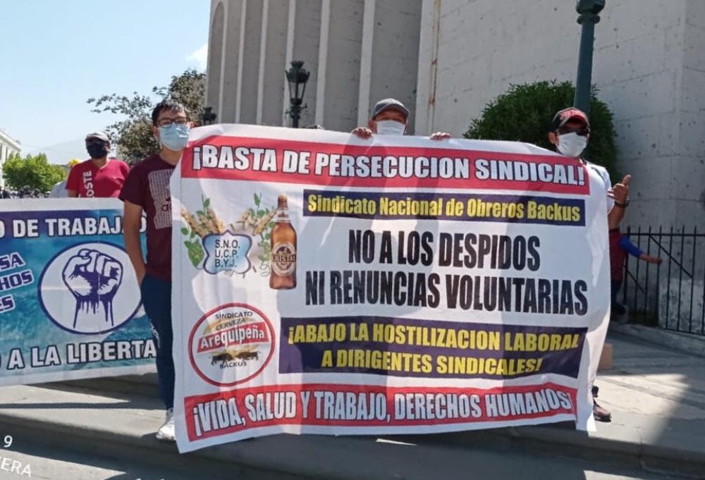 Arequipa: Policía detuvo a 17 manifestantes durante protesta de la FDTA