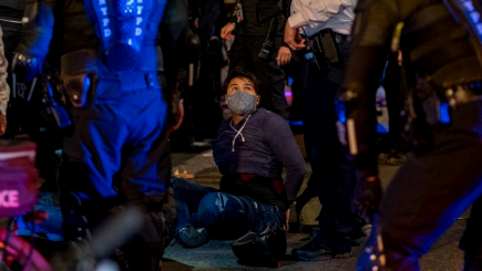 Estados Unidos: se registran protestas y arrestos tras elecciones en Estados Unidos