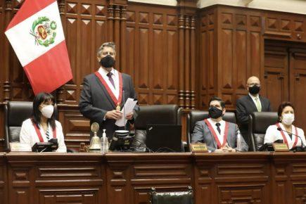 Francisco Sagasti fue elegido presidente del Congreso y asumirá presidencia del Perú (video)