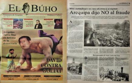 #Hace20Años Arequipa dijo no al fraude: Recuperando al León del Sur