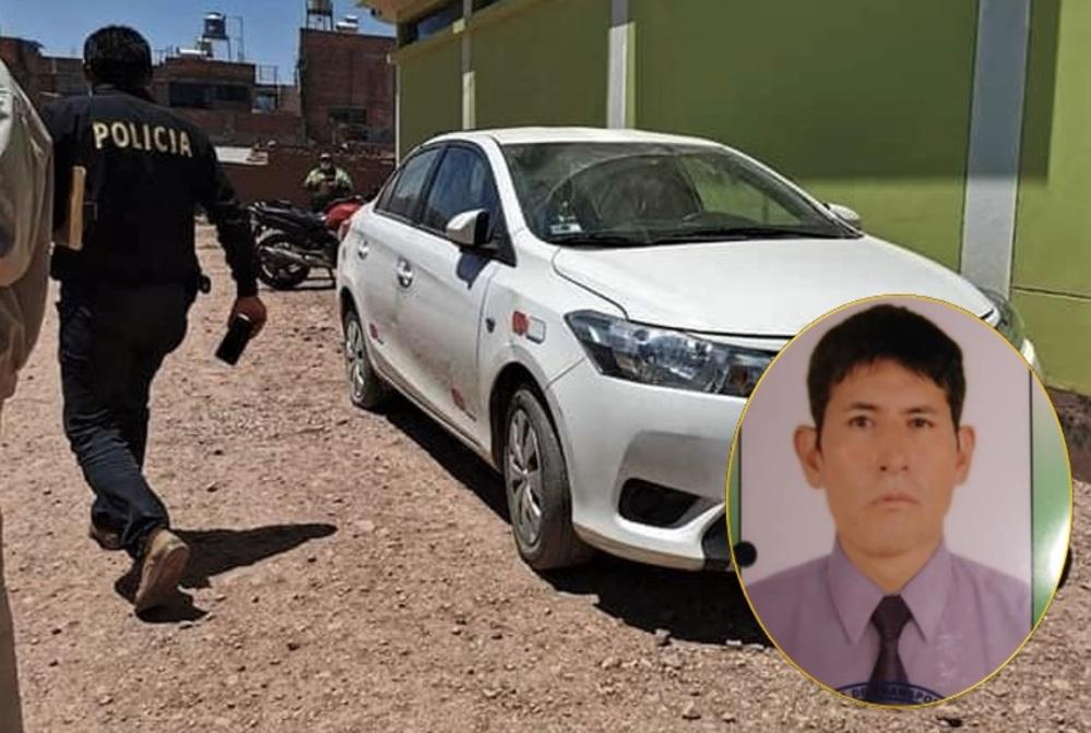 Taxista asesinado en Arequipa.