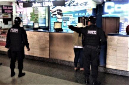 Arequipa: restringen ingreso a Terminal Terrestre tras amenaza de bomba