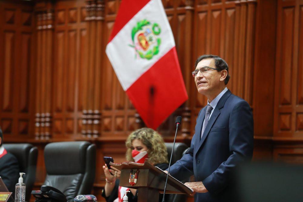 vacancia presidencial Martin Vizcarra