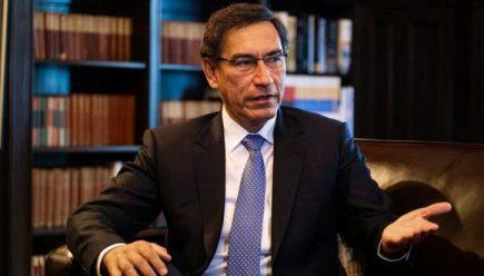 Congreso aprobó la inhabilitación de 10 años para expresidente Vizcarra