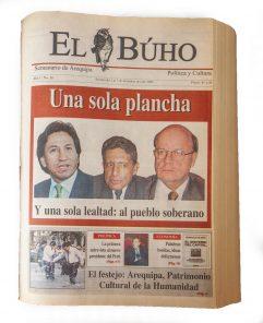 Una sola plancha; en las previas de las elecciones del 2001