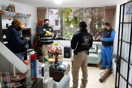 Allanan viviendas de altos oficiales de la Policía por presuntas compras irregulares