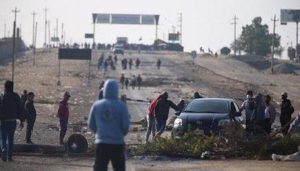 Ica: trabajadores agrarios bloquean Panamericana Sur por desacuerdo en Congreso
