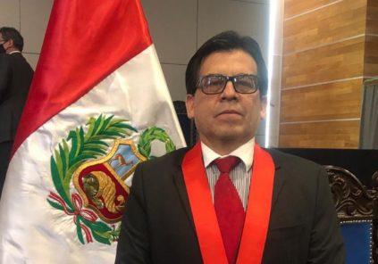 Javier Fernández Dávila Mercado es elegido presidente de la Corte de Justicia de Arequipa