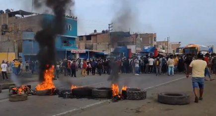 La Libertad: muere obrero agrario de 19 años en protestas por derogatoria de Ley Chlimper