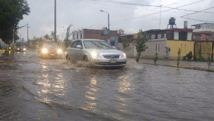 Arequipa: Senamhi advierte sobre lluvias intensas nivel 4 por tres días consecutivos