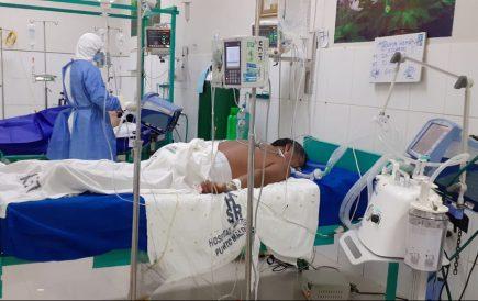 Arequipa: 58 pacientes en estado crítico por covid-19, reporta Geresa