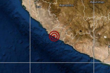 Arequipa: Sismo de 6 grados de magnitud y V de intensidad sacude Chala