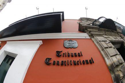Contra el clamor popular Junta de Portavoces acordó seguir con elección de miembros del TC