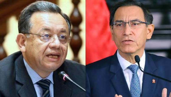 Edgar Alarcón y Martín Vizcarra