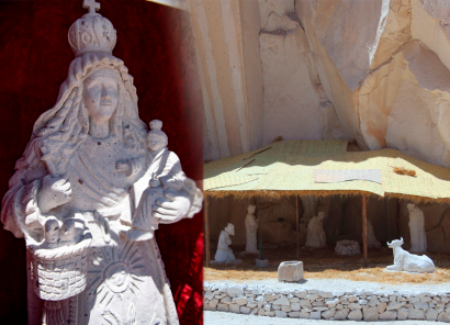 Canteras de Añashuayco con nuevos atractivos: Virgen de Chapi y escalada en sillar