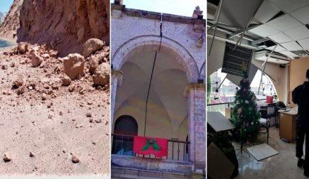 Arequipa: daños en Centro Histórico, malls y deslizamientos en Vítor tras sismo (FOTOS y VIDEO)