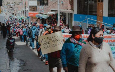 Ayacucho: Nuevo conflicto social con un paro de 72 horas en contra de 3 mineras