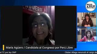 Elecciones2021: Candidatas al Congreso Miluska Olivera y María Agüero